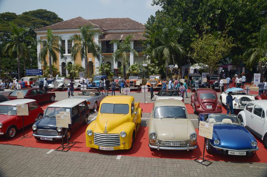 2018 Goa Vintage Bike and Car Festival image gallery