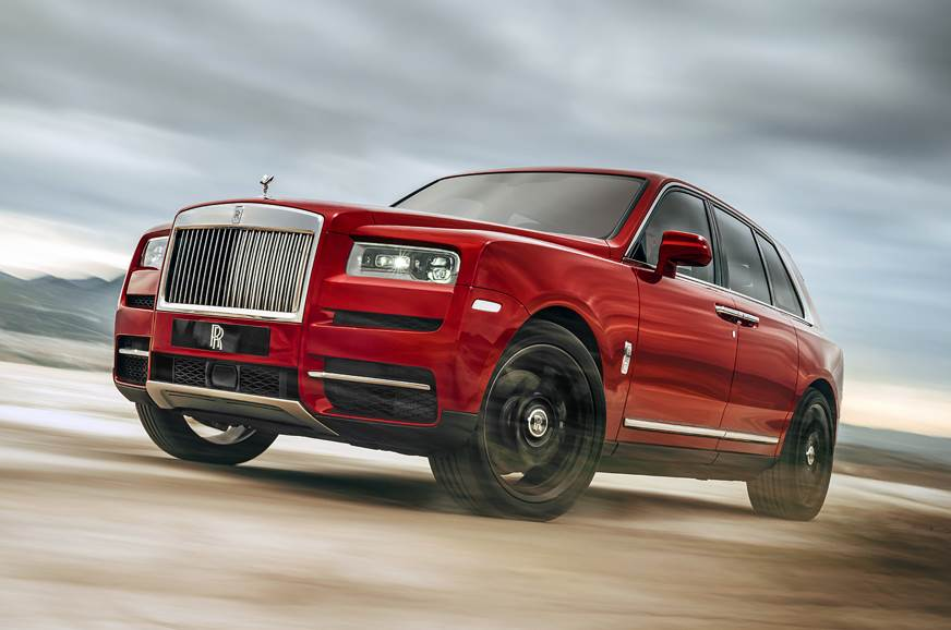 2018 Rolls-Royce Cullinan image gallery
