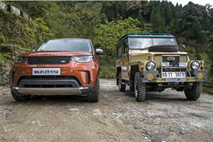 70 years of Land Rover India drive image gallery