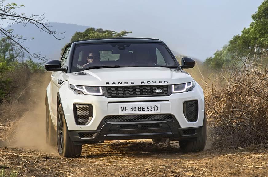 Range Rover Evoque Convertible India image gallery