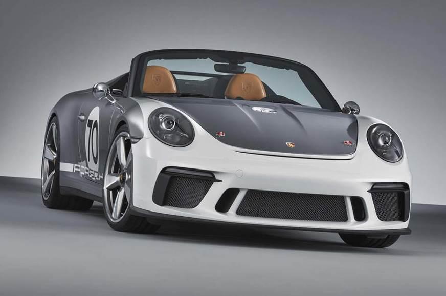 Porsche 911 Speedster concept image gallery