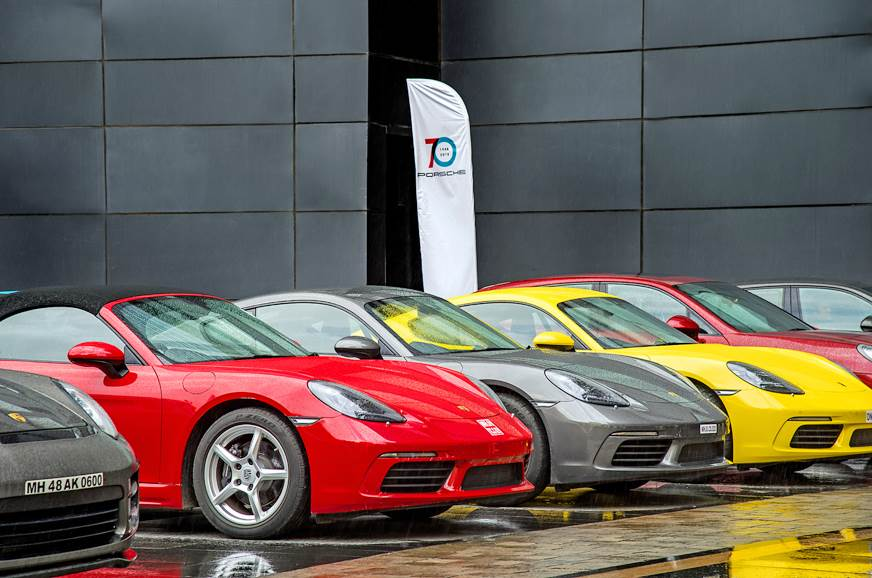 70 years of Porsche celebration image gallery