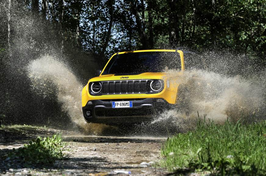 Jeep Renegade Trailhawk facelift image gallery