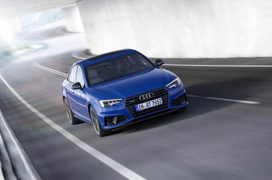 Audi A4 facelift image gallery