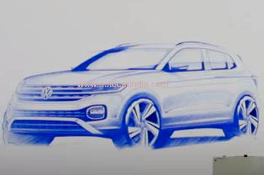 Volkswagen T-Cross SUV image gallery