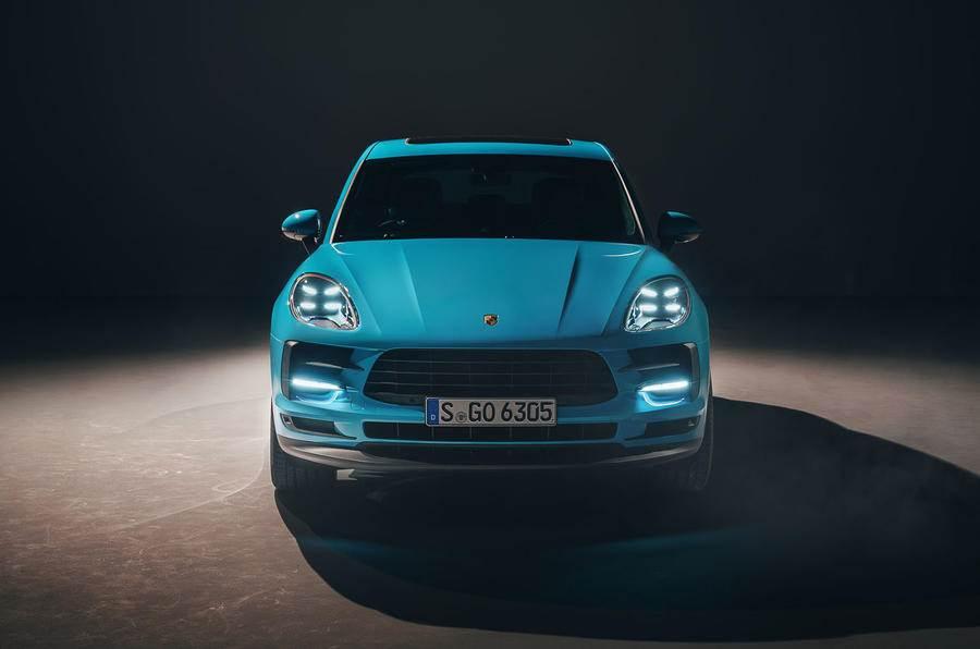2019 Porsche Macan facelift image gallery