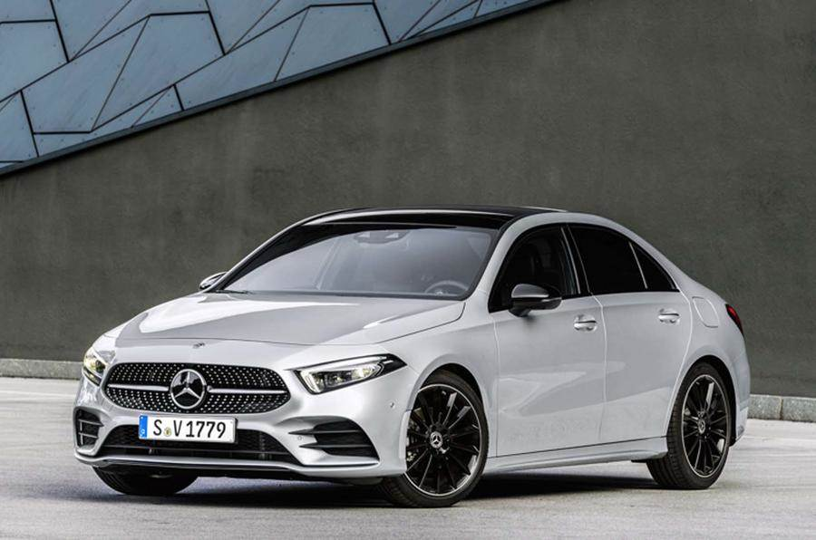 2019 Mercedes-Benz A-Class sedan image gallery