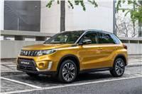 2019 Suzuki Vitara facelift image gallery