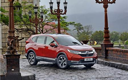 New Honda CR-V image gallery