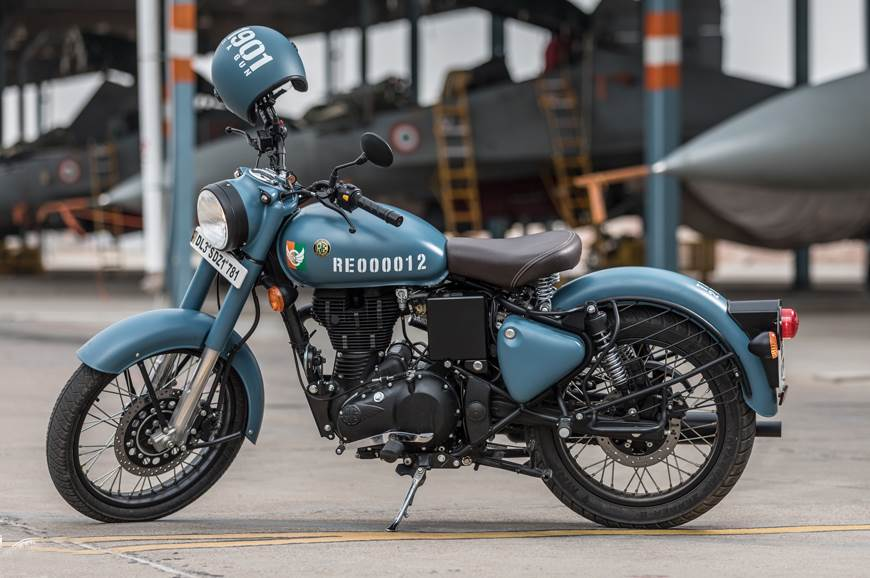 2018 Royal Enfield Classic Signals 350 ABS image gallery