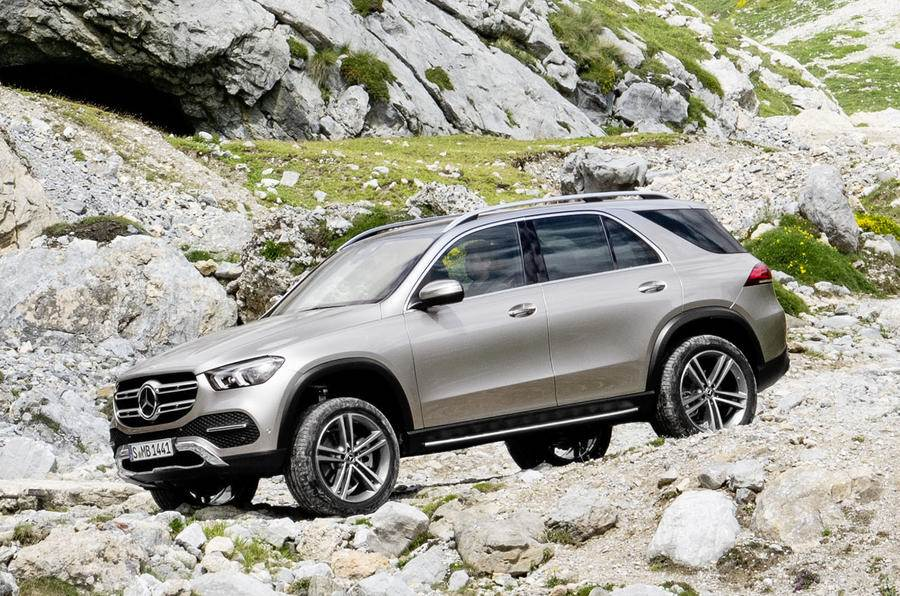 2019 Mercedes-Benz GLE image gallery