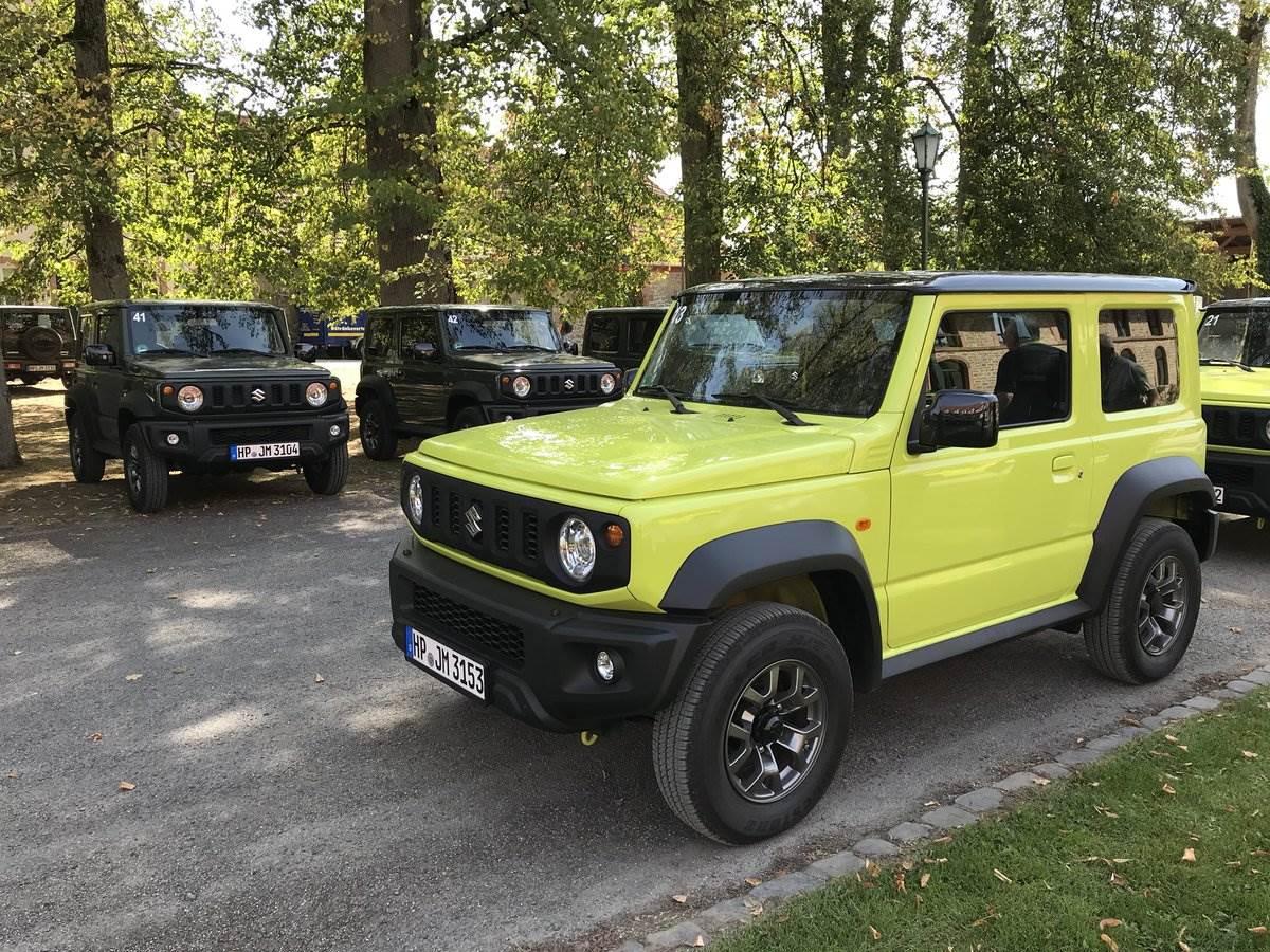 2018 Suzuki Jimny image gallery