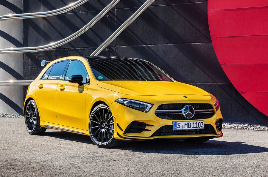 2018 Mercedes-AMG A 35 image gallery