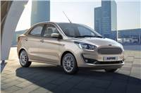 2018 Ford Aspire facelift image gallery