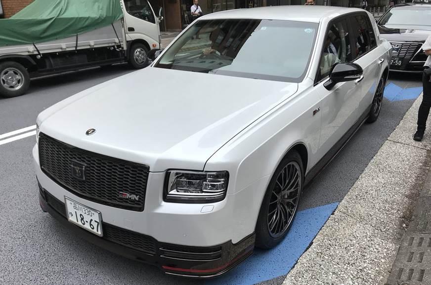 2018 Toyota Century GRMN image gallery