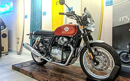 2018 Royal Enfield Interceptor 650 image gallery