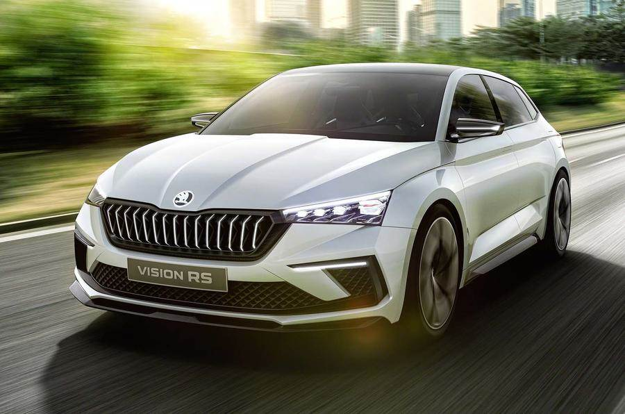 Skoda Vision RS concept image gallery