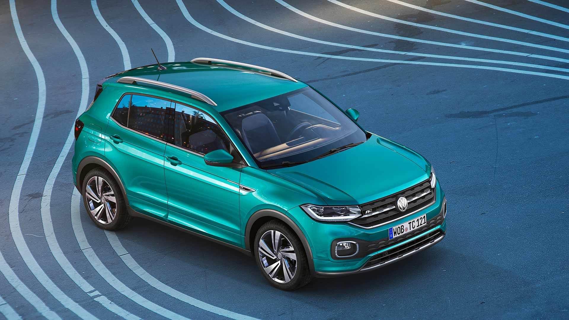 Volkswagen T-Cross (Euro-spec) SUV image gallery