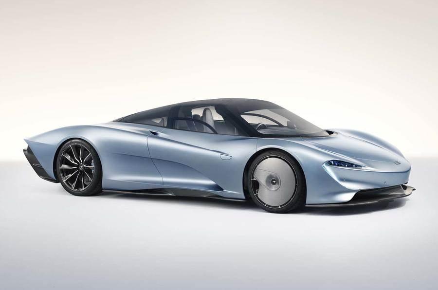 McLaren Speedtail photo gallery