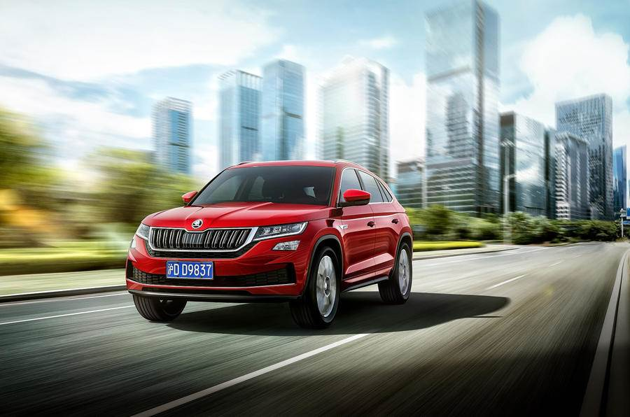 Skoda Kodiaq GT coupe image gallery