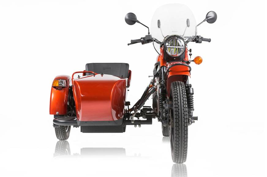Ural electric sidecar prototype image gallery
