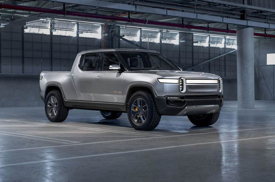 Rivian R1T pick-up truck image gallery