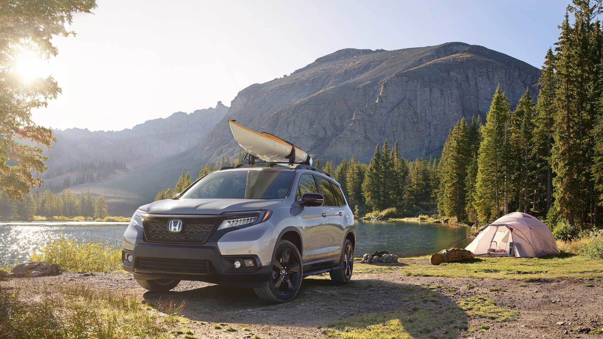 New Honda Passport image gallery