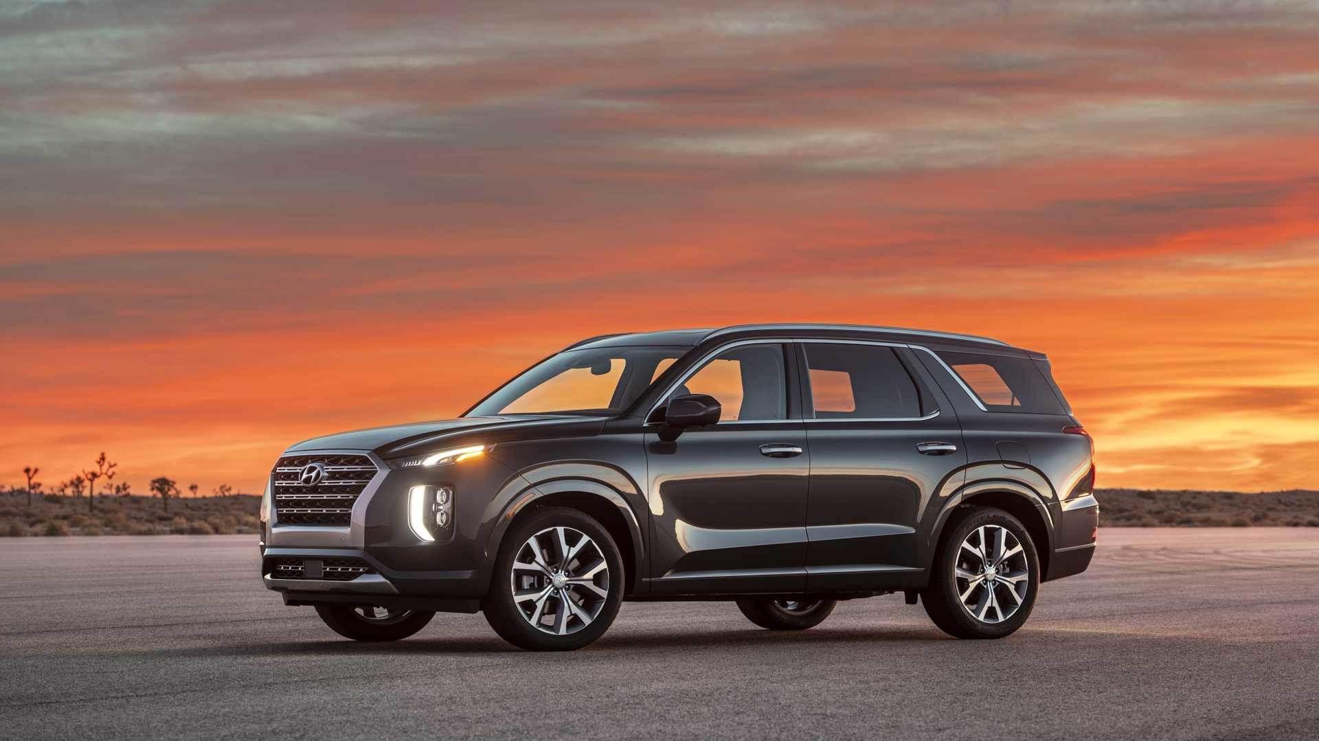 2020 Hyundai Palisade SUV image gallery