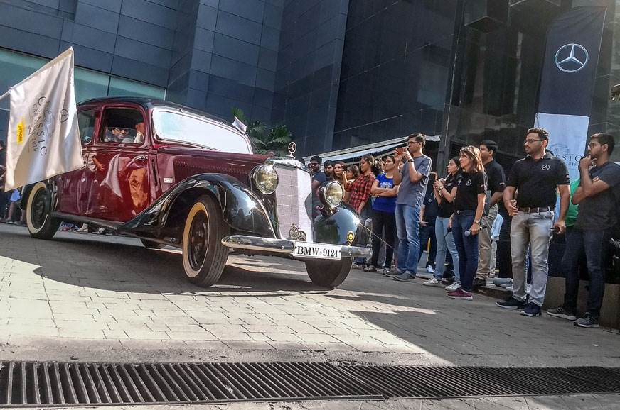 2018 Mercedes-Benz Classic Car Rally image gallery