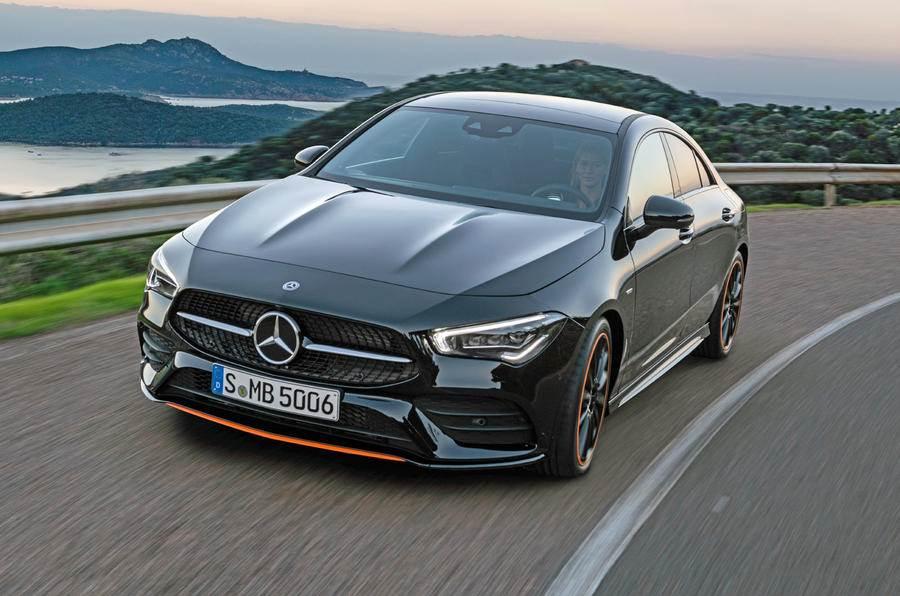 2019 Mercedes-Benz CLA image gallery