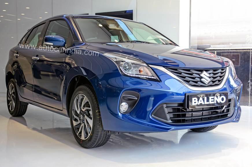 2019 Maruti Suzuki Baleno facelift image gallery