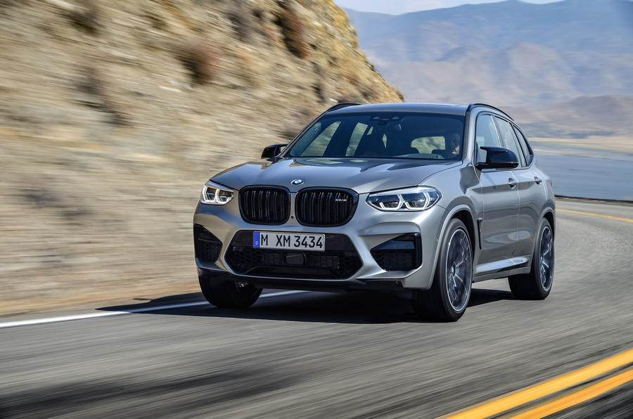 BMW X3 M Competition image gallery