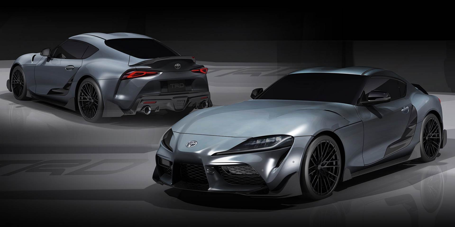Toyota Supra TRD Performance Line Concept image gallery