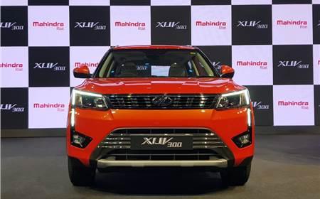 New Mahindra XUV300 image gallery