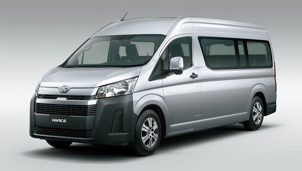 New Toyota Hiace image gallery