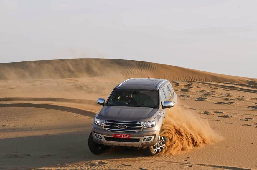 Ford Endeavour facelift image gallery