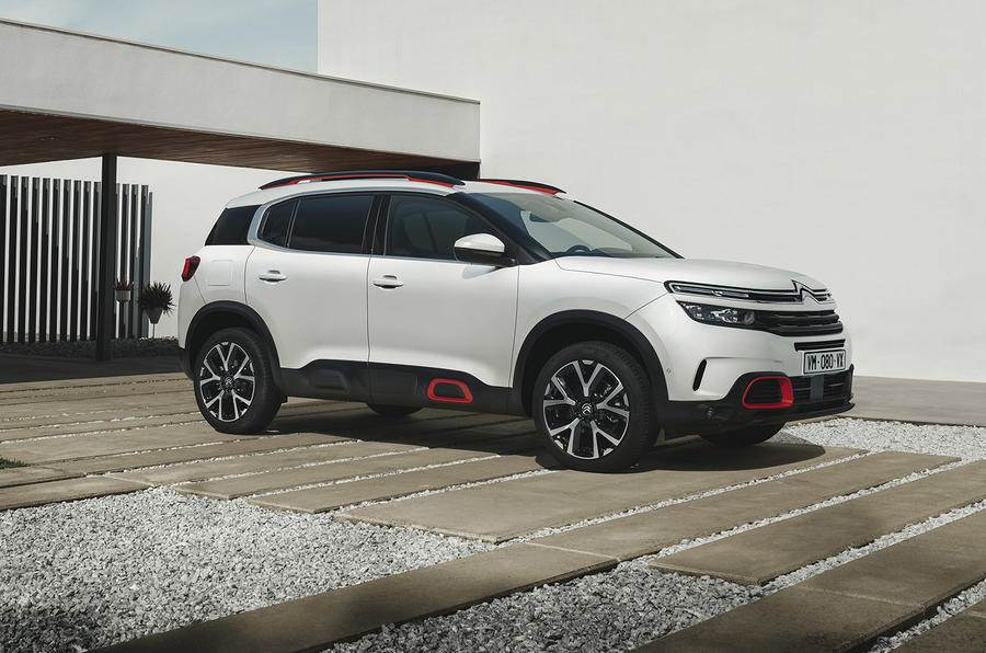 Citroen C5 Aircross image gallery