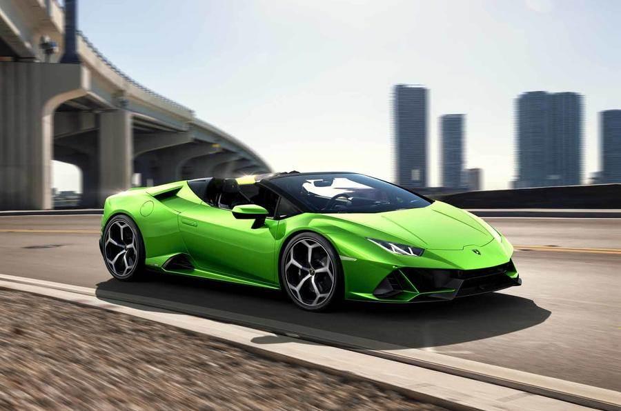 Lamborghini Huracan Evo Spyder image gallery