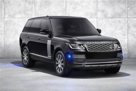 Refreshed Range Rover Sentinel image gallery