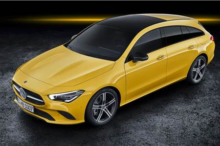 New Mercedes-Benz CLA Shooting Brake image gallery