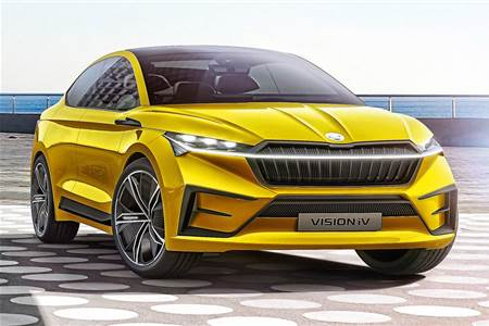 Skoda Vision iV concept image gallery