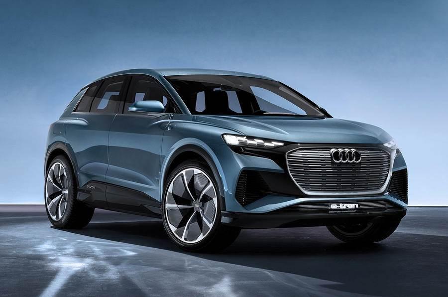 Audi Q4 E-tron SUV image gallery
