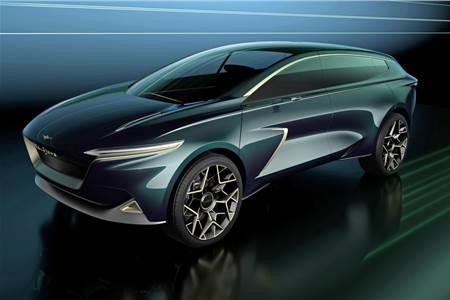 Aston Martin Lagonda All-Terrain SUV concept image gallery
