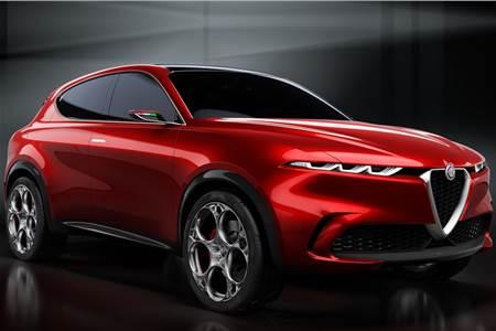 Alfa Romeo Tonale concept SUV image gallery