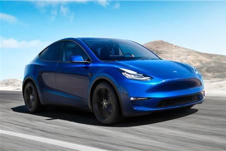 2020 Tesla Model Y image gallery