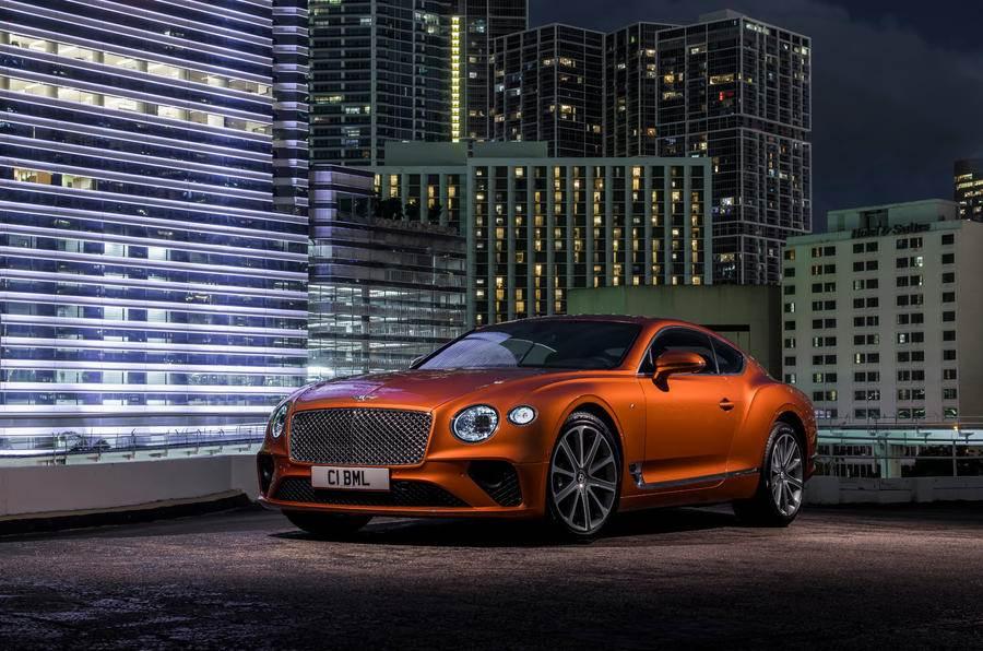 Bentley Continental GT V8 image gallery