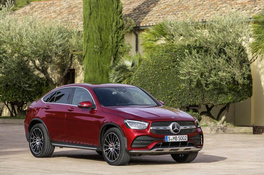Mercedes GLC Coupe facelift image gallery