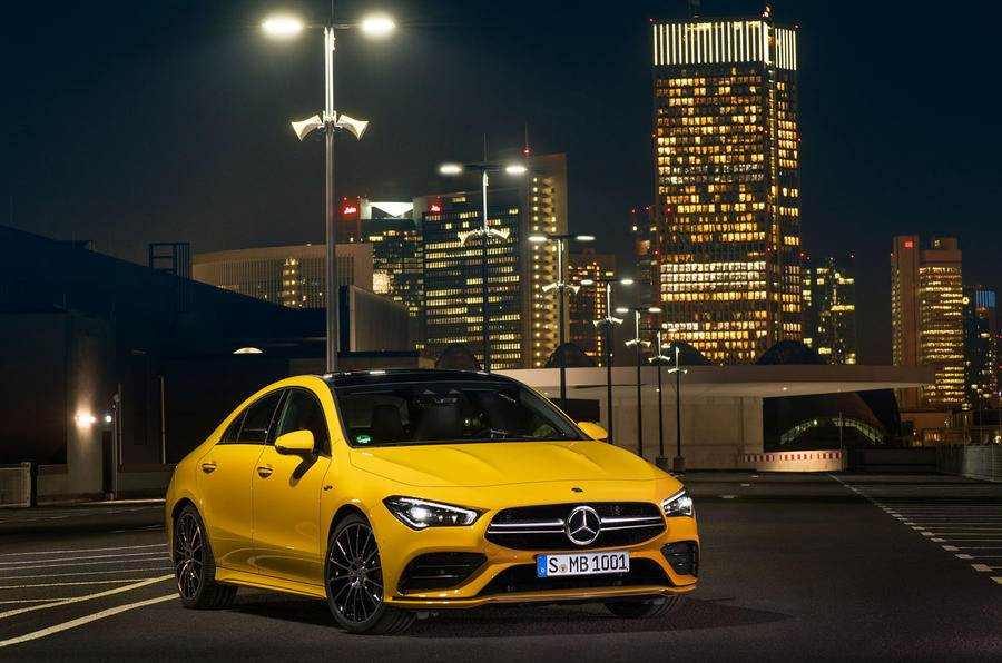 New Mercedes-AMG CLA 35 image gallery