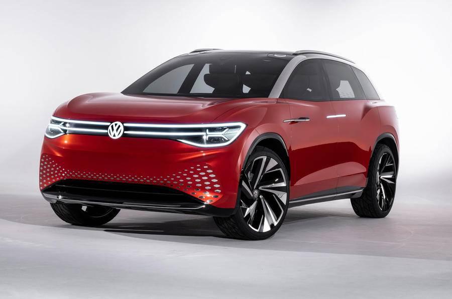 Volkswagen ID Roomzz concept SUV image gallery