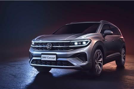 Volkswagen SMV concept image gallery